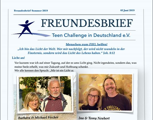 TC Germany's latest newsletter